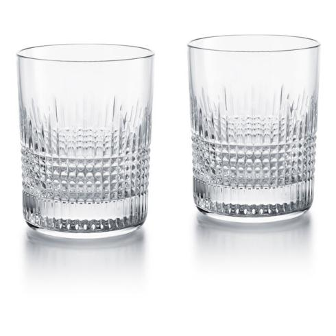 Alioto\'s Exclusives   Baccarat Nancy DOuble Old Fashions PAIR $280.00