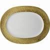 $435.00 Ecume Gold Oval Platter