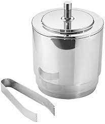 Georg Jensen   Manhattan Collection Ice Bucket & Tong $179.00