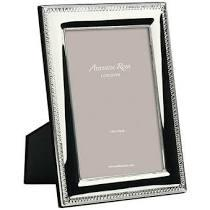 """$60.00 Addison Ross 5"""" x7"""" Silver Plated Frame"""