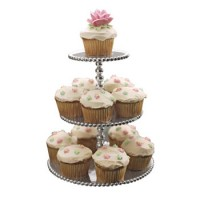 $98.00 Beaded Three Tier Server