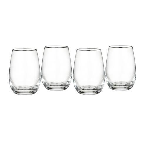 Alioto's Exclusives   MONGRAMMED Stemless Wines set of 4 $80.00