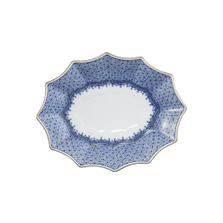 Alioto's Exclusives   Blue Lace Platter $185.00