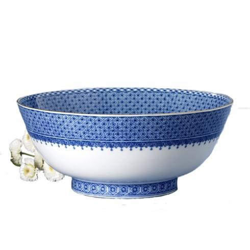 $420.00 Blue Lace Serving Bowl