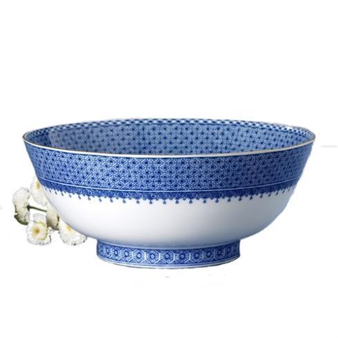 $420.00 Blue Lace Serving Bowl