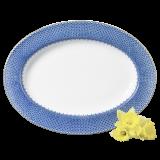 $255.00 Mottahedeh Blue Lace Platter