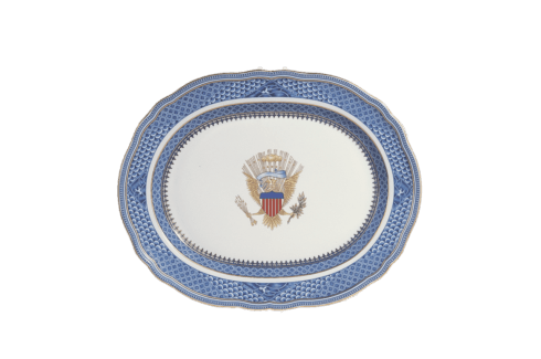 Alioto's Exclusives   Indigo Blue Platter $285.00