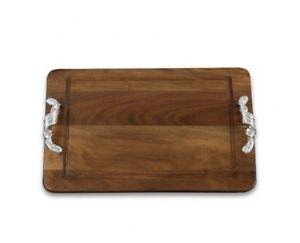 $171.00 Beatriz Ball Soho Torza Wood Rectangle Cutting Board