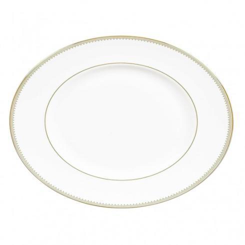 """$136.00 Golden Grograin Platter 13"""""""