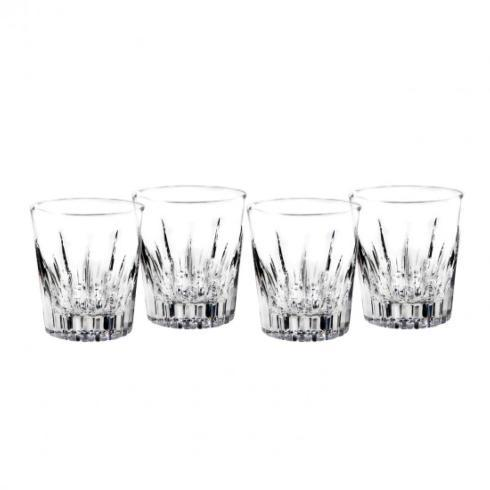 $99.00 Waterford Southbridge Set of 4- Double Old Fashions