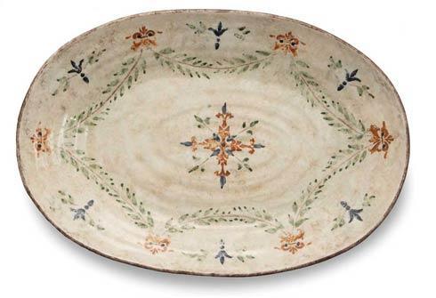 Arte Italica  Medici Large Oval Platter $176.00