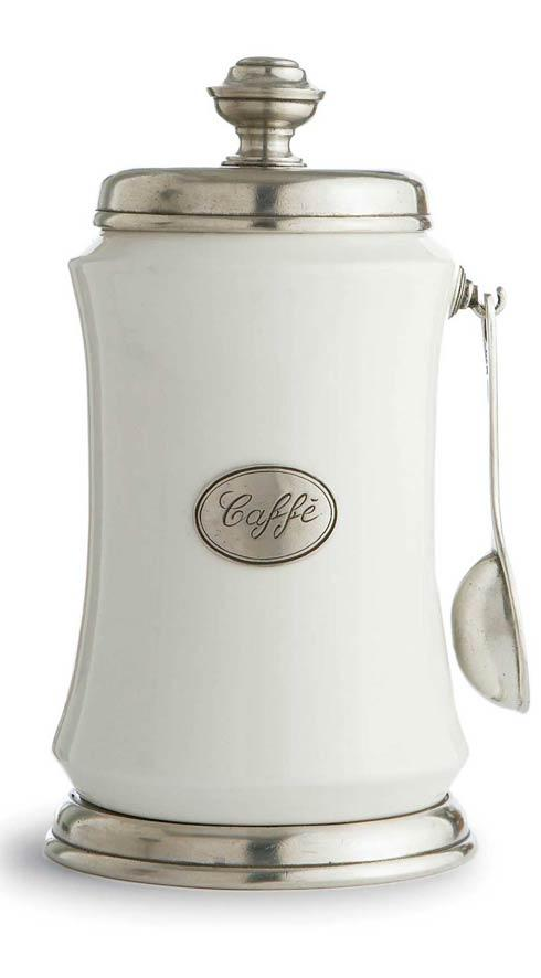 Coffee Canister with Spoon