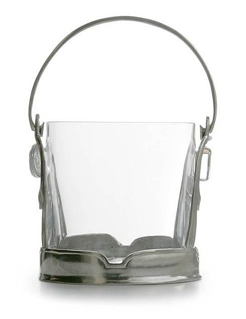 Arte Italica  Taverna Crystal Ice Bucket with Handles $210.00