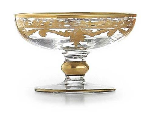 $112.50 Gold Small Compote