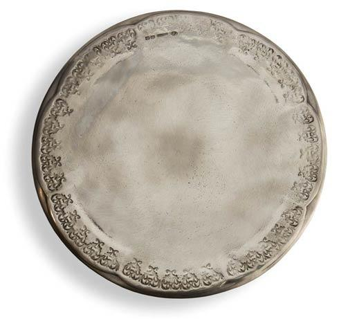 $326.00 Pewter Cake Plate