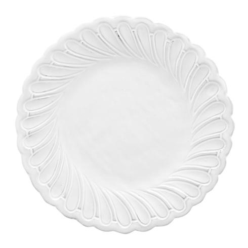 Arte Italica  Bella Bianca Stoneware Pique Salad Plate $36.00