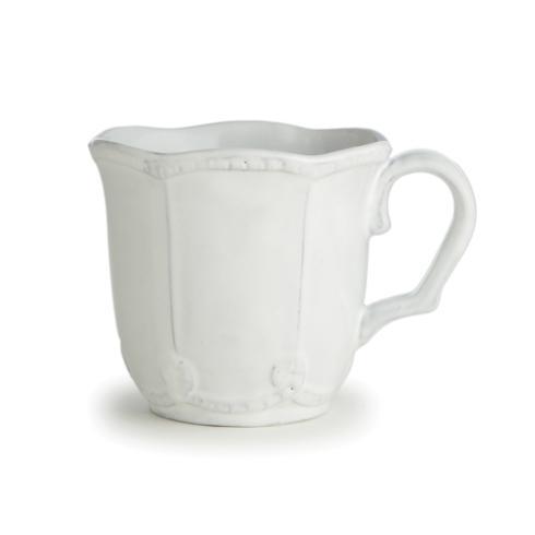 Arte Italica  Bella Bianca Stoneware Beaded Mug $38.00