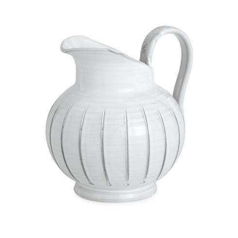 Arte Italica  Bella Bianca Stoneware Pitcher $125.00