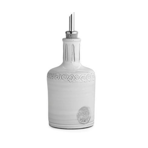 Arte Italica  Bella Bianca Stoneware Oil Bottle $46.00