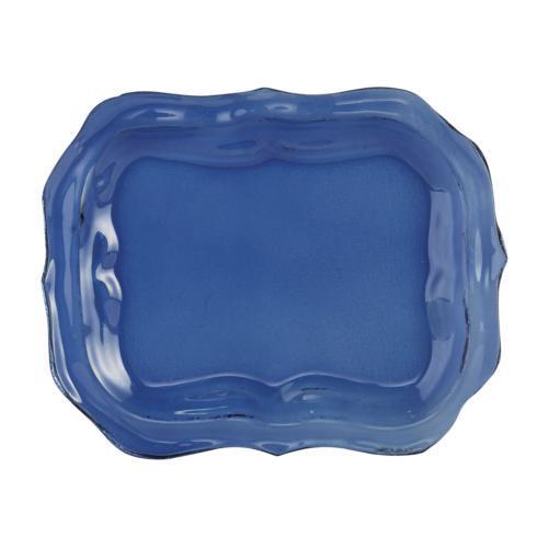 Arte Italica  Burano Glass Small Blue Tray $50.00