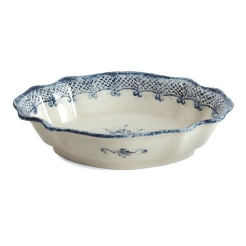 $146.00 Oval Scalloped Bowl