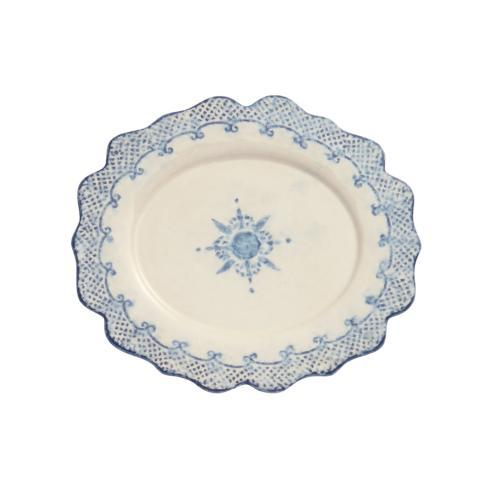 $68.00 Oval Scalloped Plate