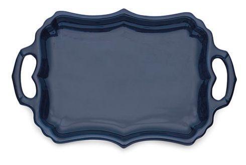 Arte Italica  Burano Blue Tray with Handles $139.50