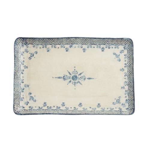Arte Italica  Burano Large Rectangular Platter $168.00