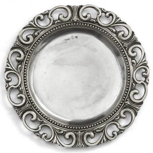 Arte Italica  Pewter Serveware Charger $275.00