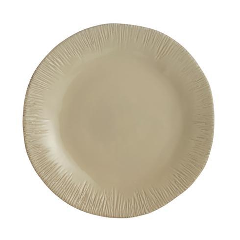 Taupe Round Platter