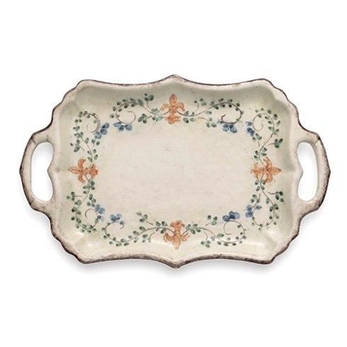 $176.00 Rectangular Tray with Handles