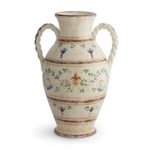 Rope 2-Handled Vase