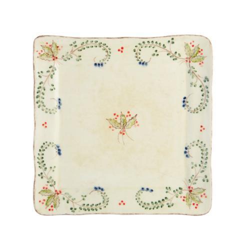 Arte Italica  Medici Festivo Square Platter $92.00