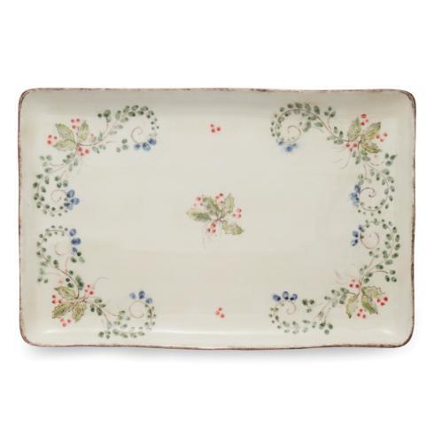 Arte Italica  Medici Festivo Rectangular Platter $168.00