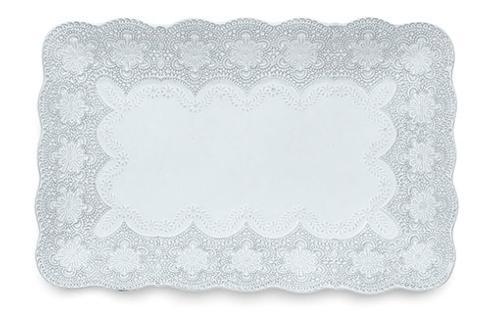 Arte Italica Merletto White Rectangular Tray $142.00