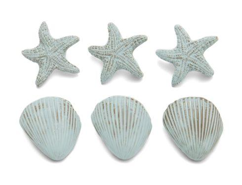Blue Set of Napkin Rings
