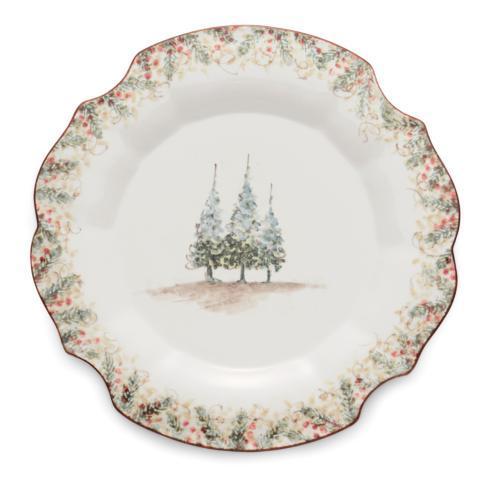 Arte Italica  Natale Scalloped Charger/Platter $150.00