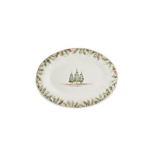 Arte Italica  Natale Oval Platter $179.00