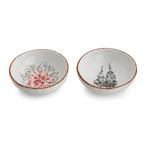 Arte Italica  Natale Dipping Bowl Set $60.00
