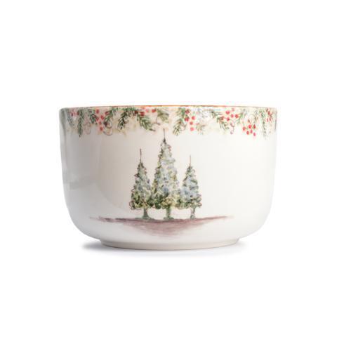 Arte Italica  Natale Natale Deep Serving Bowl $210.00