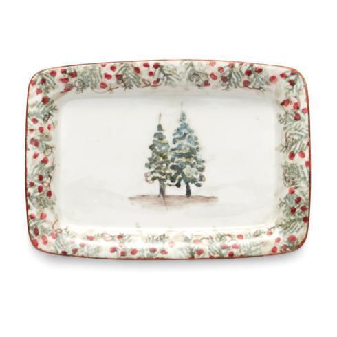 Arte Italica  Natale Small Tray $46.00