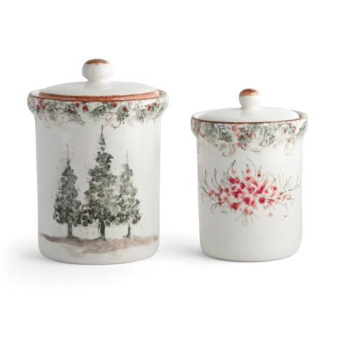 Arte Italica  Natale Canister Set $185.00
