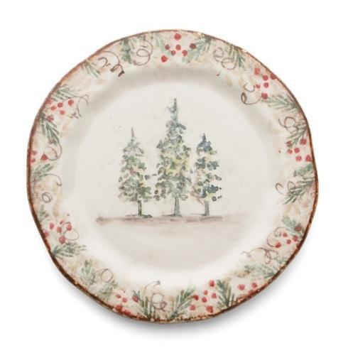 Arte Italica  Natale Natale Salad/Dessert Plate $46.00