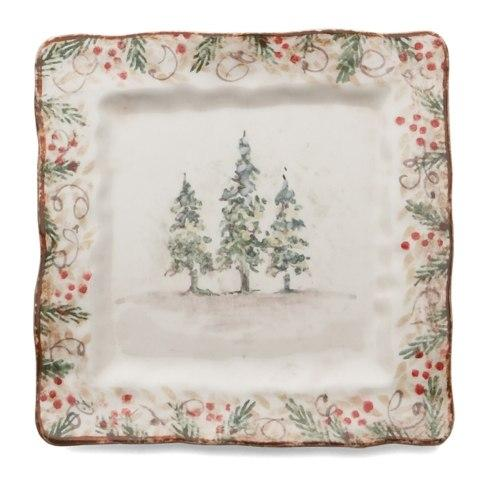 $42.00 Natale Square Plate