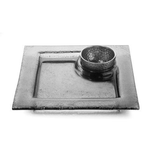 Square Platter with Bowl