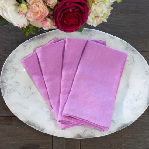 $53.00 Rose Pink, Set of 4