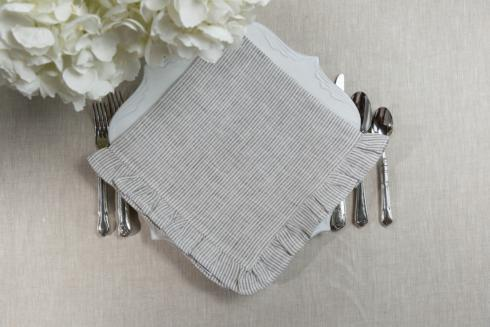 $53.00 Grey Pinstripe, set of 4