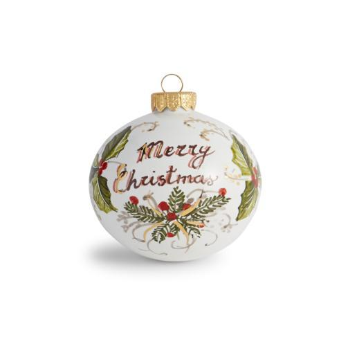 Arte Italica  Holiday Ornaments Natale, Merry Christmas $45.00