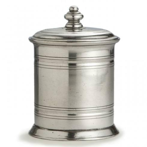$210.00 Small Pewter Canister
