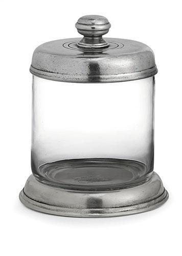 Arte Italica  Tavola Small Glass Canister $220.00